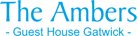The Ambers - Guest House Gatwick logo